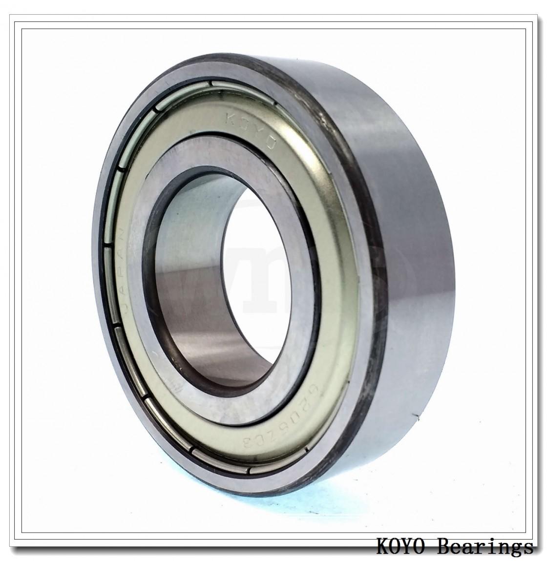 KOYO 47487R/47420 tapered roller bearings