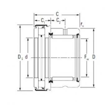 KOYO RAXZ 545 complex bearings