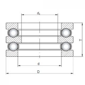ISO 52309 thrust ball bearings