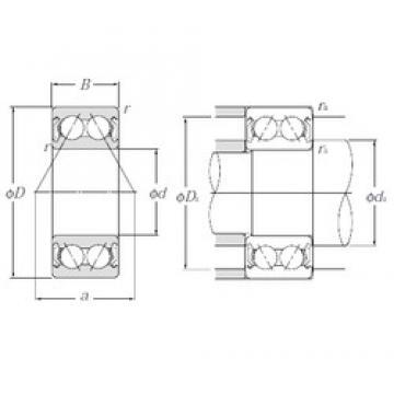 NTN 5205SCZZ angular contact ball bearings