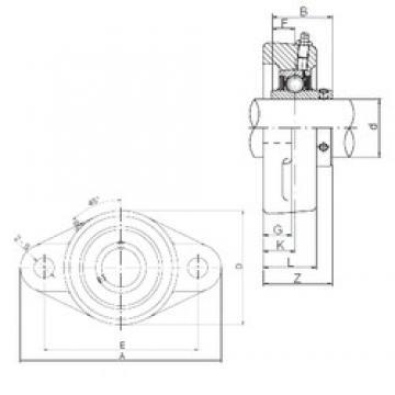 ISO UCFLX06 bearing units