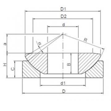 ISO GW 060 plain bearings