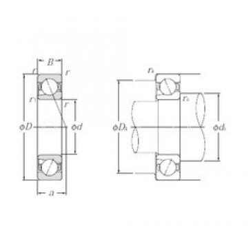 NTN BNT200 angular contact ball bearings
