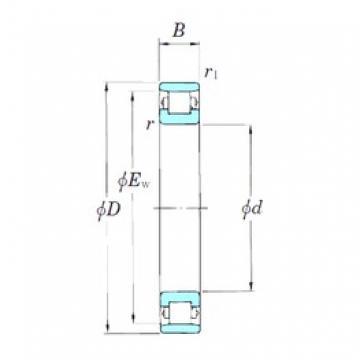KOYO 3NCN1024 cylindrical roller bearings