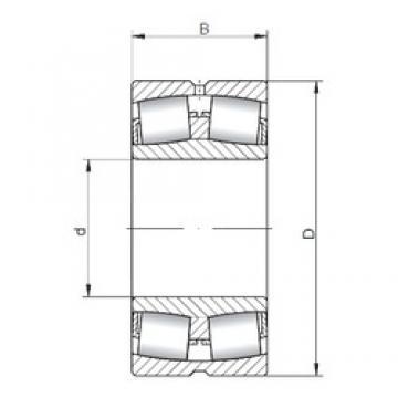 ISO 22320W33 spherical roller bearings