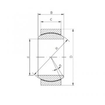 ISO GE140UK-2RS plain bearings