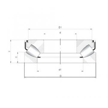 ISO 29320 M thrust roller bearings