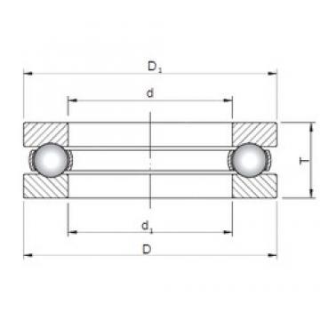 ISO 51234 thrust ball bearings