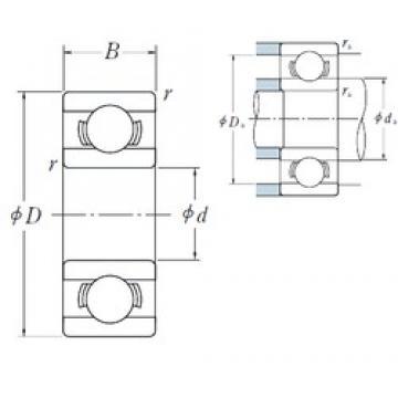 ISO 698 deep groove ball bearings