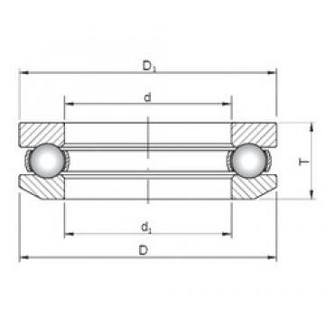 ISO 53200 thrust ball bearings