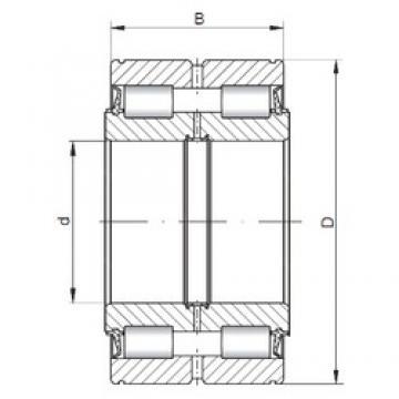 ISO SL045010 cylindrical roller bearings