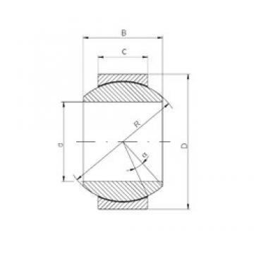 ISO GE200FW-2RS plain bearings