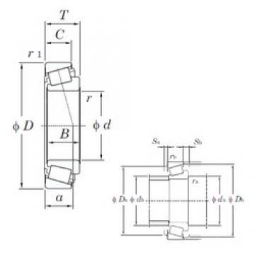 KOYO 850AR/832 tapered roller bearings