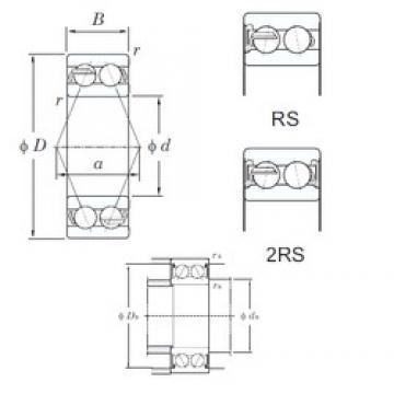 KOYO 5213-2RS angular contact ball bearings