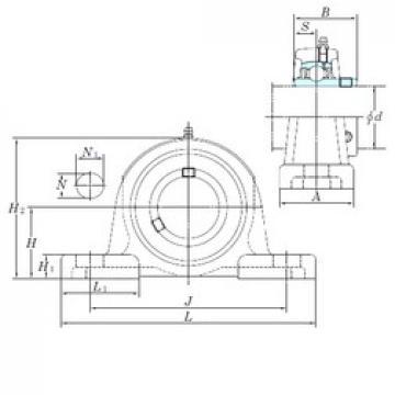 KOYO UCPX11 bearing units