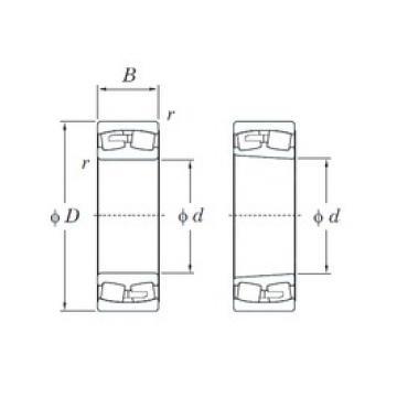 KOYO 23084RK spherical roller bearings