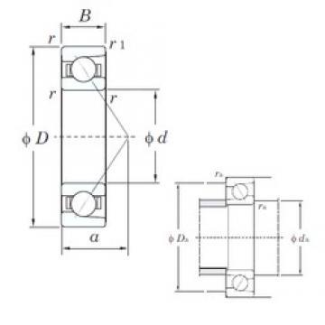 KOYO HAR916C angular contact ball bearings