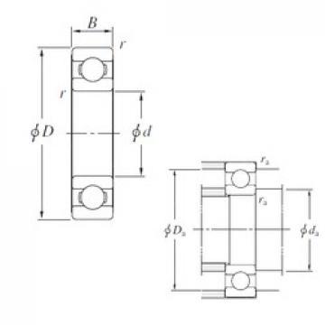 KOYO SB710 deep groove ball bearings