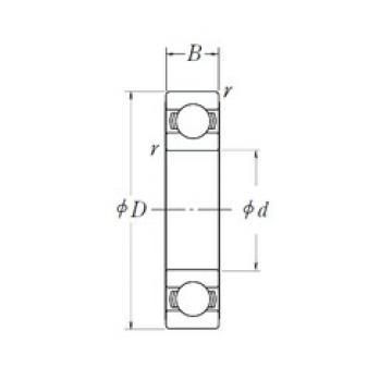 NSK 6207L11-H-20 deep groove ball bearings