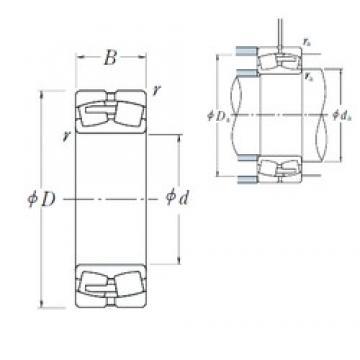 NSK 23180CAE4 spherical roller bearings