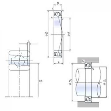 NSK 65BNR10H angular contact ball bearings