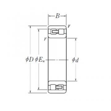 NSK NN 3011 cylindrical roller bearings