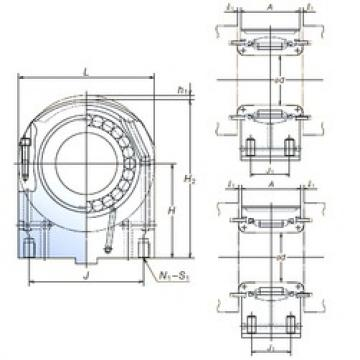 NSK 115PCR2401 cylindrical roller bearings