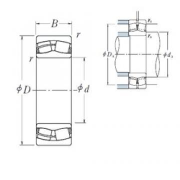 NSK 23134CE4 spherical roller bearings