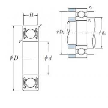 NSK 6910ZZ deep groove ball bearings