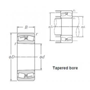 NTN 23124BK spherical roller bearings