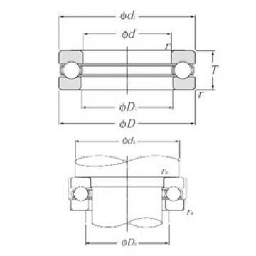 NTN 51307 thrust ball bearings