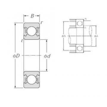 NTN 6022LLB deep groove ball bearings