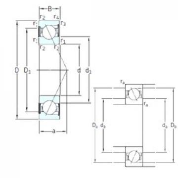 SKF SS7200 CD/HCP4A angular contact ball bearings